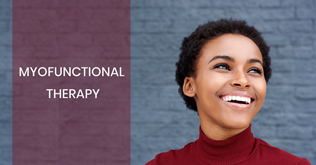 Myofunctional Therapy includes exercises that are meant to improve the strength of the muscles of the base of the tongue, tonsils, soft palate, and walls of the pharynx
