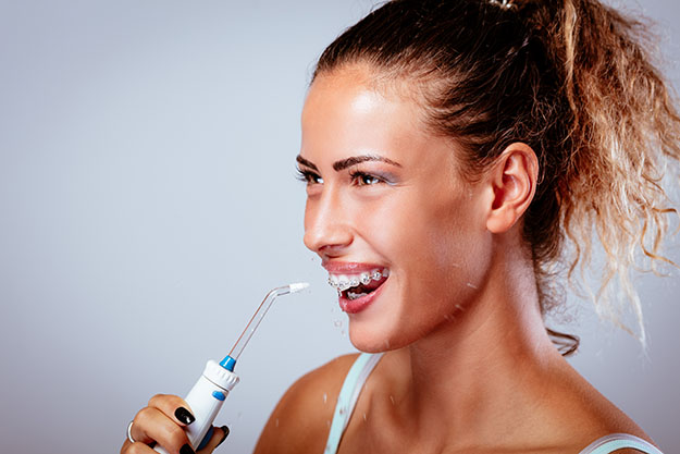 Waterpik for cleaner whiter teeth